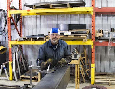 Robert has over 32 years of experience in welding and assembling. He's been with HKD since 2015. He's a hunter and a fisherman. He's passionate about nature in all seasons.